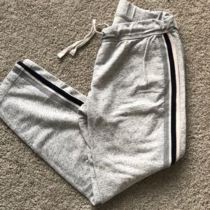 Jcrew Side Stripe Skinny Sweatpants